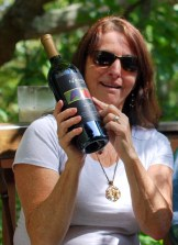 What do you get a 60-year-old lady? Wine...