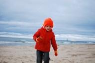 Beach in Michigan (a bit colder).