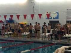 Swim Meets, dominant win, rival Delran