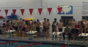 Swim Meets, dominant win, rival Delran