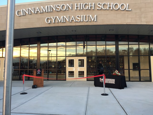 new gym, chs dedication