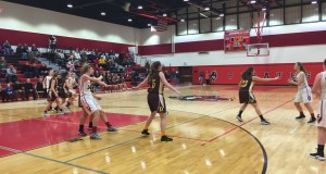 versus Bordentown Girl's Basketball, haddon township