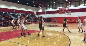 versus Bordentown Girl's Basketball, haddon township