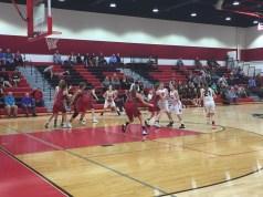 dogfight haddon township girl's basketball, oakcrest
