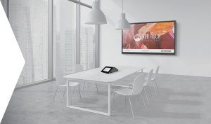 flex crestron background meeting teams microsoft office skype rooms conference executive say smart
