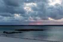 Again a beautifully colourful sunset on Bowen Island