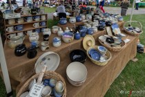 The pottery stand was one of the highlights