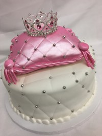 Pillow Princess Celebration cake from Cinotti's Bakery