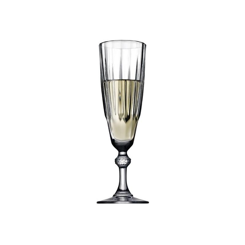 440069 Diamond Flüt Şampanya kadehi