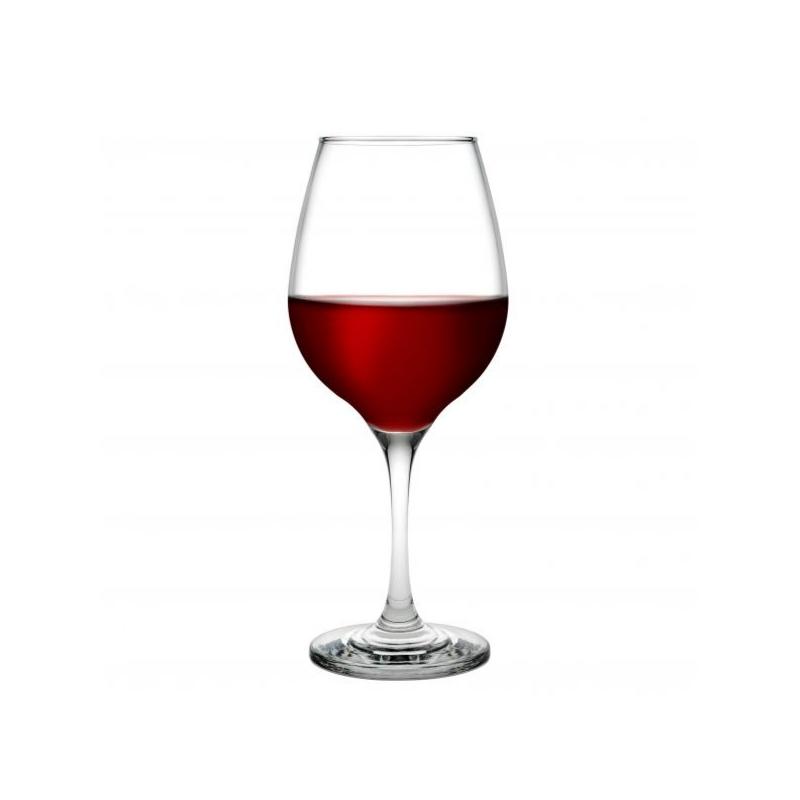 440265 Amber Kırmızı şarap kadehi
