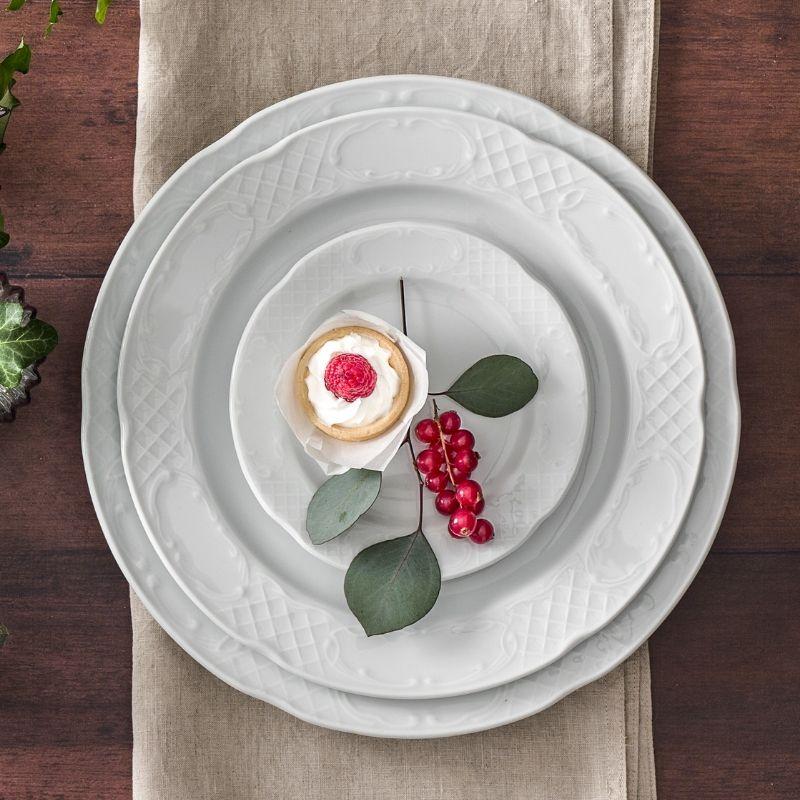 flora servis tabağı