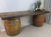 wine barrel table | The Cinquecento Project
