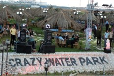 """Yes, it's called """"Crazy Water Park"""""""