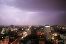 Lightning over Gaza