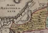 1045 AD Map of Palestine