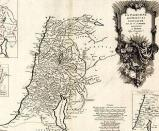 1750 Map of Palestine