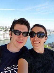 Camila e Ériko em Portugal
