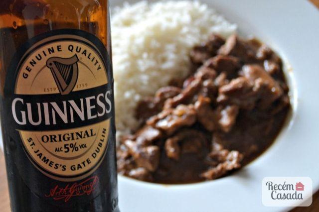 Receita: carne ao molho de cerveja preta Guinness do site www.cintiacosta.com