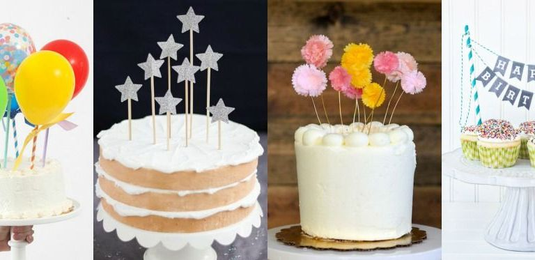 Lindos topos de bolo DIY (para fazer em casa)