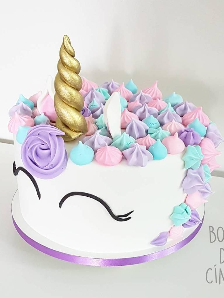 Os bolos de unicórnio mais lindos