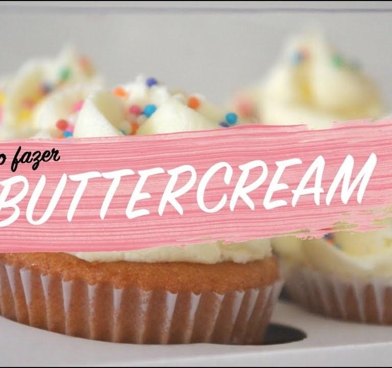 Receita de buttercream