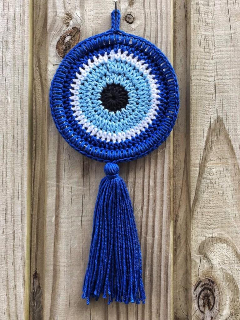 Olho grego na decoração da casa
