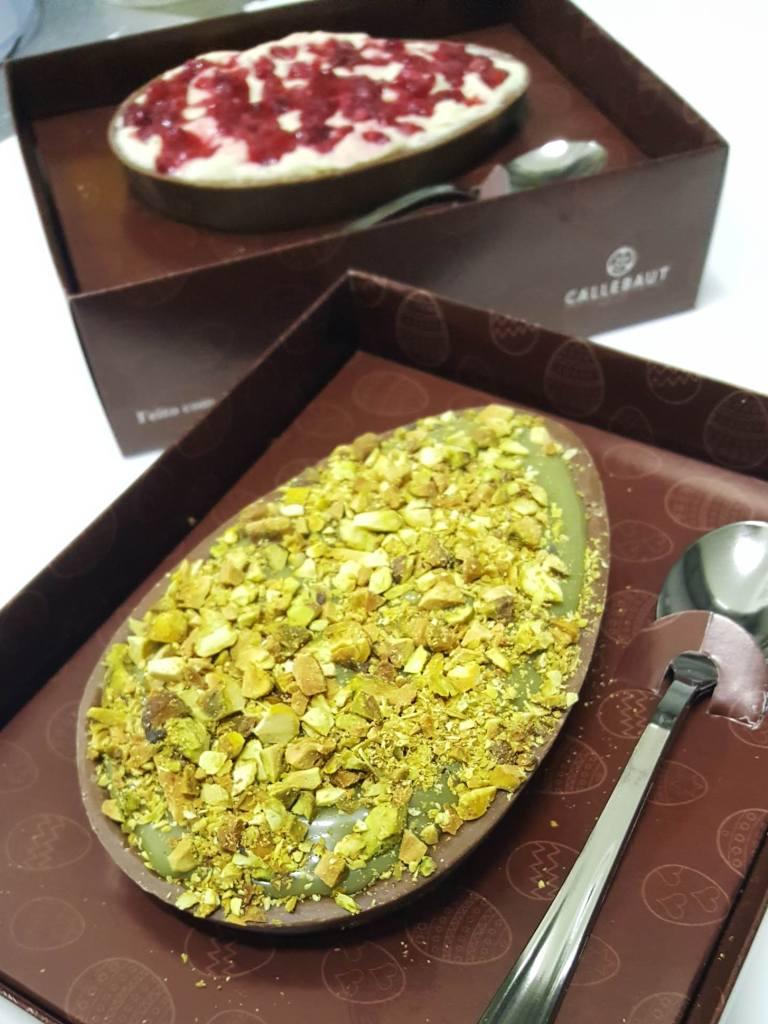 Receitas para recheios gourmet de ovo de páscoa de colher