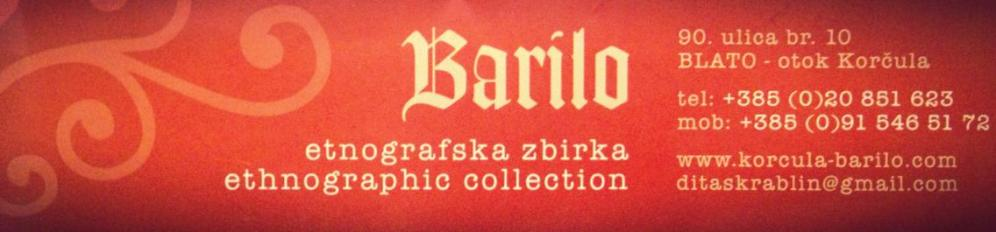 Barilo - etnographic collection