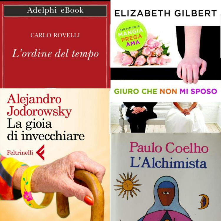 Cinzia Pedrani, letture di luglio 2019