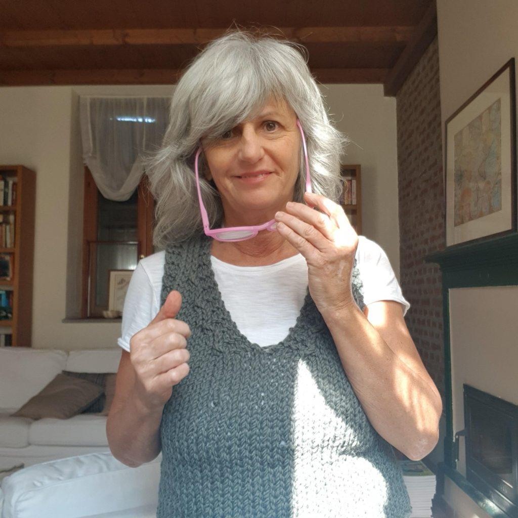 Occhiali giu', Cinzia Pedrani