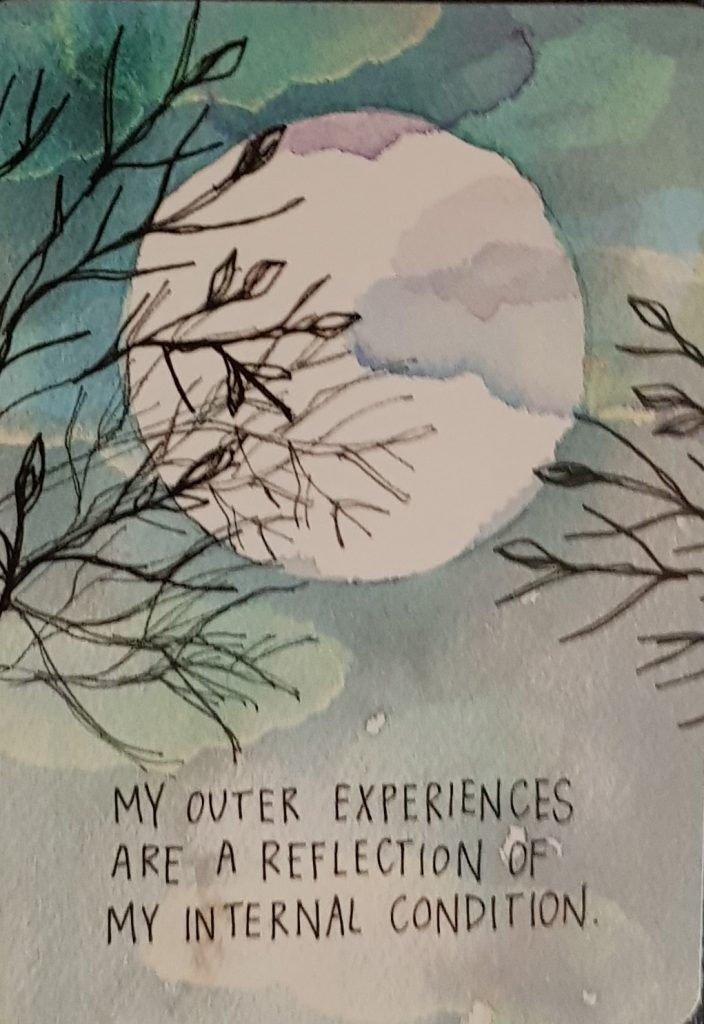 My outer experiences