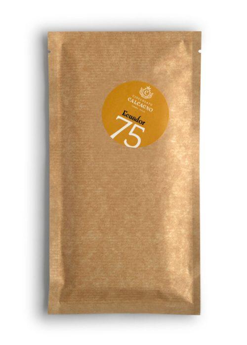Tavoletta cioccolato fondente Ecuador 75%