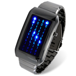 The Warp Core - Japanese Style Blue LED Watch