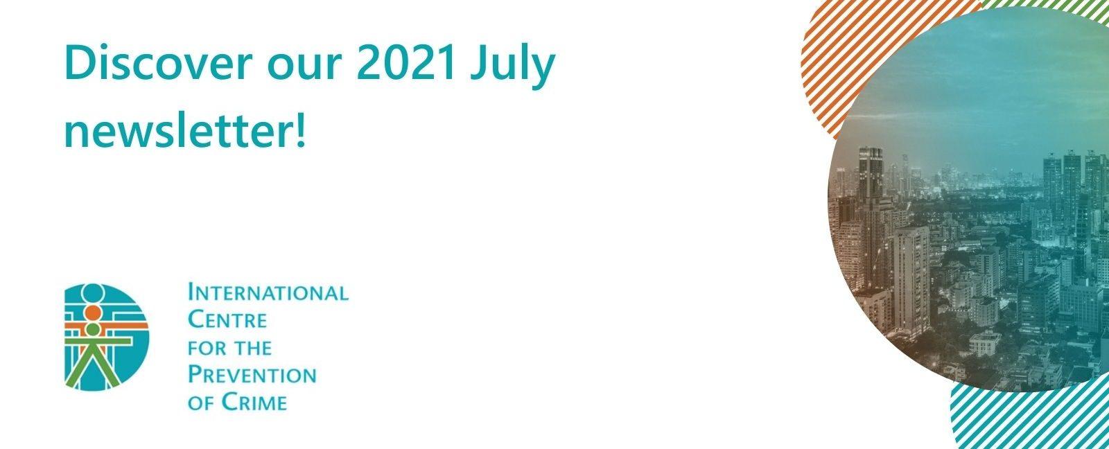 Newsletter – July 2021