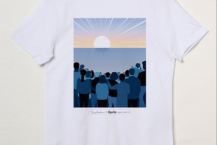 joey guidone spritz maglietta covid-19