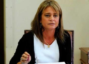 Senadora y presidenta de la UDI, Jacqueline Van Rysselberghe