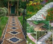 Walkway Garden Path Ideas