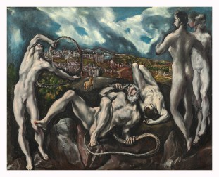 "El Greco. ""Laocoonte"" ca. 1610-14. Nat. Gallery, Washington"