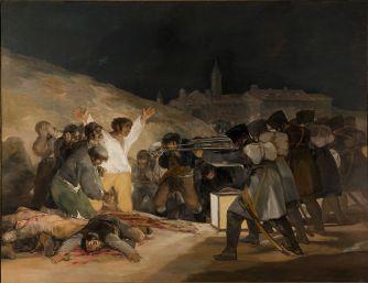 Goya. El 3 de mayo de 1808 en Madrid. 1814. Museo del Prado