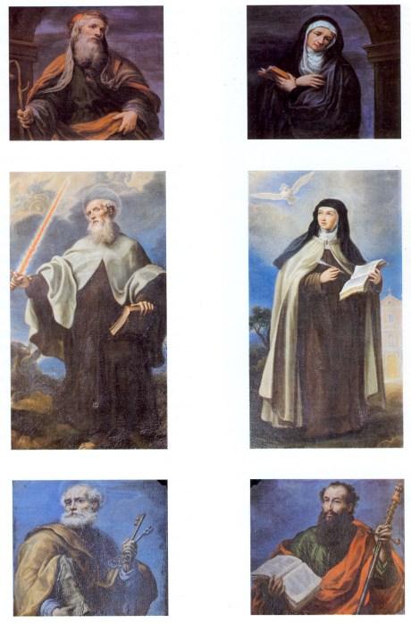 Francisco Rizi. Pinturas del retablo de San José