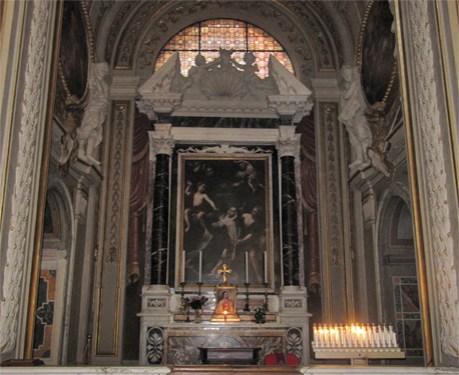 Antonio Gherardi. Capilla de Santa Teresa. Roma