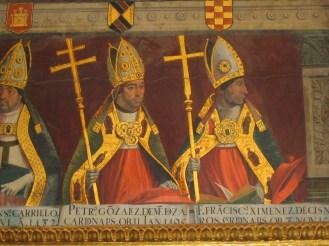 Retratos. Juan de Borgoña. Sala capitular. Catedral de Toledo