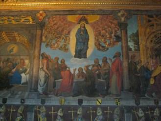 Asunción de la Virgen. Juan de Borgoña. Sala capitular. Catedral de Toledo
