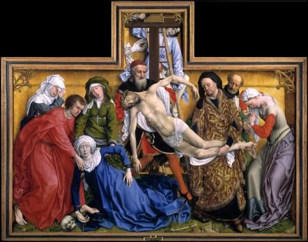 Rogier van der Weyden. El Descendimiento. Museo del Prado