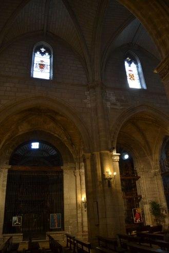 Iglesia de Torrelaguna. Vista interior (nave central). foto: Jesús C. V.