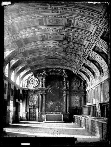 J. Laurent. Sacristía de El Esorial. Archivo Ruiz Vernacci. foto: IPCE.