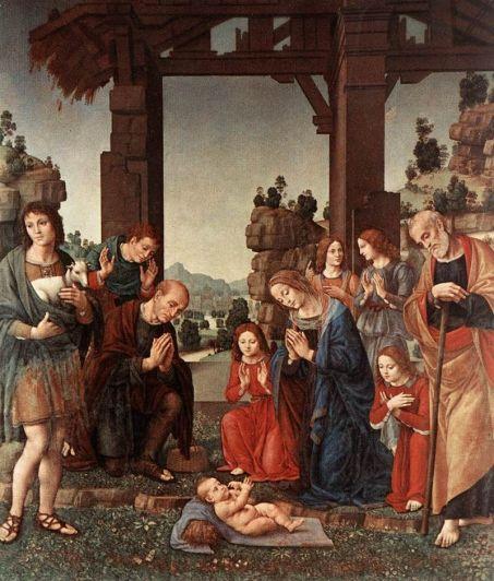 Lorenzo di Credi. Adoración de los pastores. ca. 1510. Uffizi. Florencia. Foto: wikicommons.