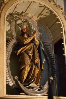 Juan de Giralte. Inmaculada Concepción. ca. 1590. Iglesia de Santa María Coronada. Medina Sidonia (Cádiz) Foto: @Cipripedia
