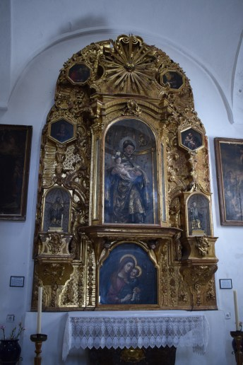 Retablo de San Antonio. s. XVIII. Foto: Cipripedia.