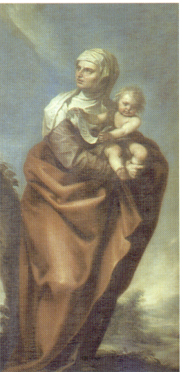 Alonso Cano. Santa Isabel.